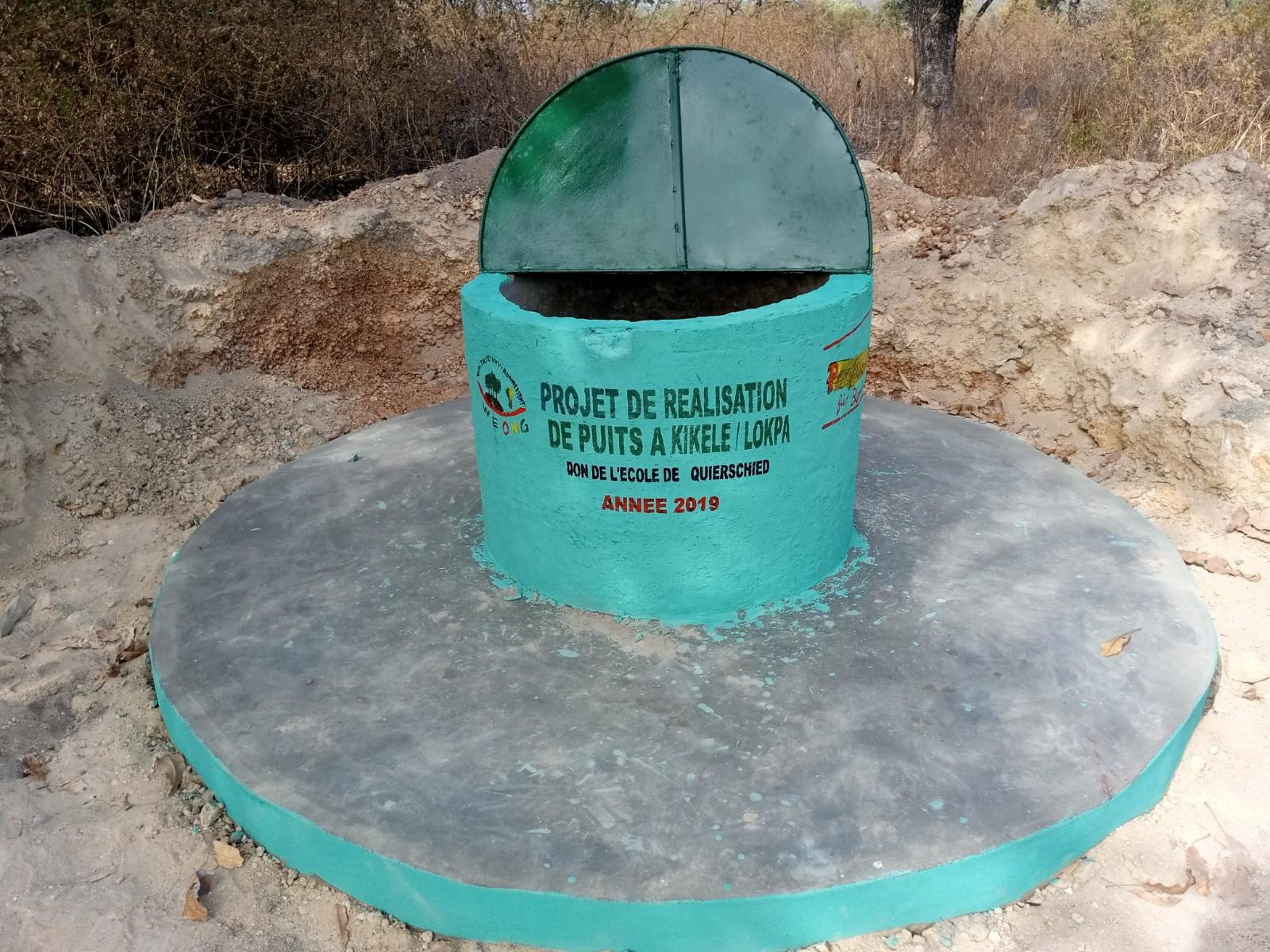 Wasserprojekt hat erfolgreich einen Brunnen in Benin gebaut
